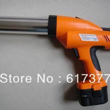 CE сертифицированный RoHS Ge тест батареи пистолет для чеканки/Электрический силиконовый пистолет/беспроводной чеканка пистолет 310 мл картридж с использованием