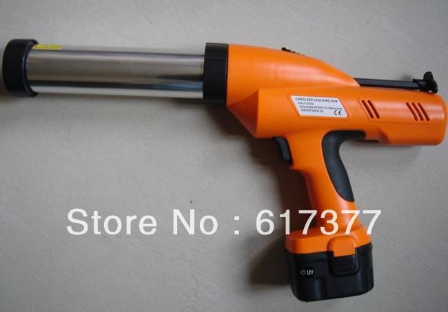 CE Certificated RoHS Ge Test Battery Caulking Gun /Electric Silicone Gun/ Cordless Caulk Gun 310ml Cartridge Using