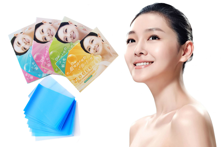Oil Absorbing Paper Face Care Clean Face Keep Dry  Paper Size 9*6cm 50PCs In One Bag M61-XYZ