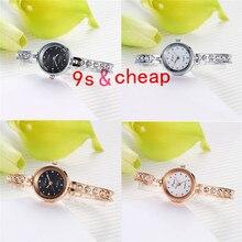 Fashion Ladies Women Stainless Steel  Rhinestone Quartz Wrist Watch  #3346 Brand New High Quality Luxury Free Shipping