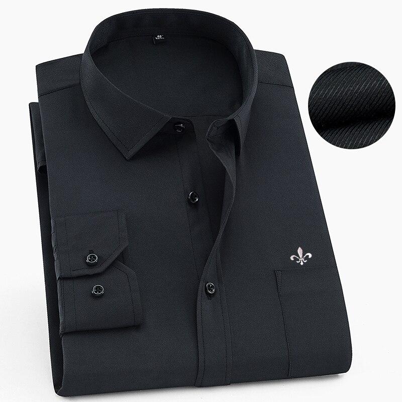 Image 3 - Dudalina 2020 Camisa Social Masculina Men Shirt Long Sleeved Classical Male Shirts Formal Business Shirt Man Embroidery LogoCasual Shirts   -