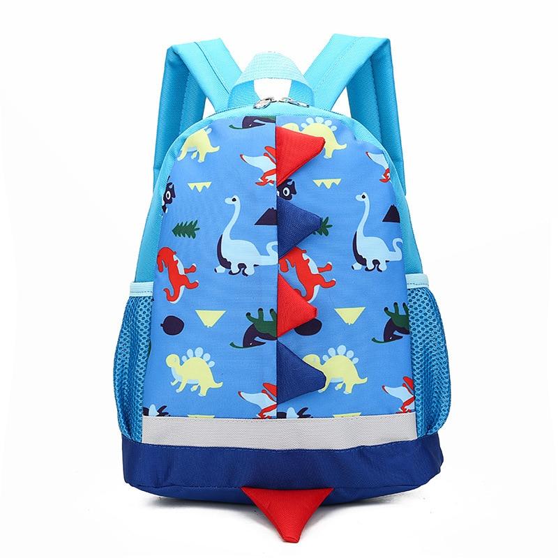 Children Bag Cute Cartoon Dinosaur Kids Bags Kindergarten Preschool Backpack for Boys Girls Baby School Bags 3-4-6 Years Old
