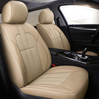 custom cowhide Leather car seat cover for Nissan X TRAIL Qashqai Fuga Faux Murano Cima Cefiro auto accessories car styling