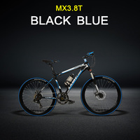 7 Speed High Quality 26 Inches Electric Bike 36V 240W Suspension Fork Oil Disc Brakes 6