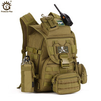 40L Waterproof Nylon Military Backpacks Tactics Backpack Army Rucksack Molle Assault Travel Bag for Men Women mochila hombre G8