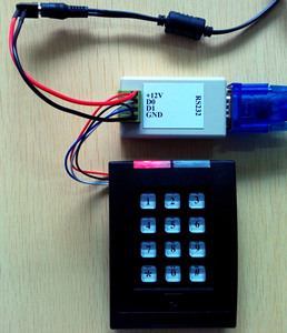 Image 3 - シリアルポート RS232 に行くウィーガンド WG 双方向伝送 ASCII/六角ドアアクセス制御
