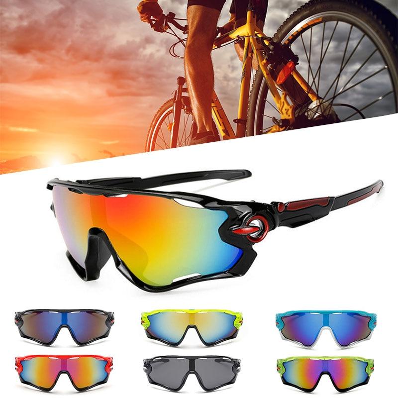 Outdoor Sports Anti-UV Cycling Goggle Sunglasses Eyewear Windproof Sandproof Polarized Bicycle Goggle