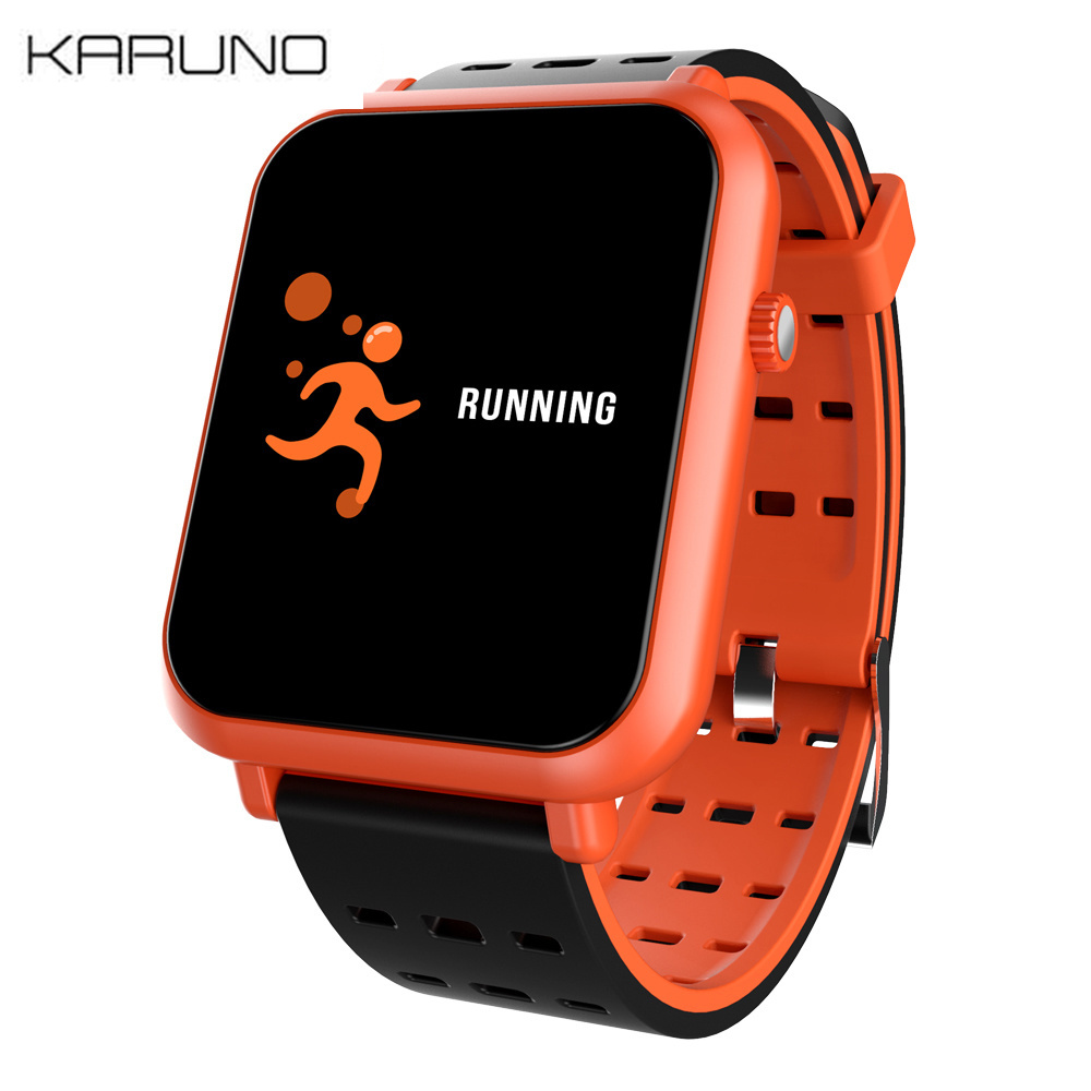 KARUNO Q8mini Smart Bracelet Wristband Blood Pressure Oxygen Heart Rate Monitor Sport Fitness Tracker Smart Band for Women Men in Digital Watches from Watches