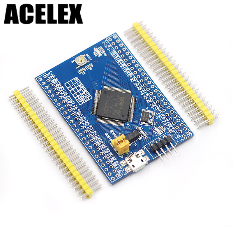 Cortex-M3 STM32F103VCT6 core board minimum system board STM32 ARM development board stm32f103zet6 minimum system board dev board cortex m3 arm 7