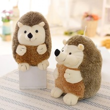 Hedgehog Doll Toys Stuffed Children`s Gifts Plush toys Office&Home Pillows Novel Design Great Elasticity