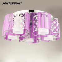 New Acrylic Led Ceiling Lights Modern Fashionable Design Indoor Room Lights Home Lamps Led Luminaria Cloth