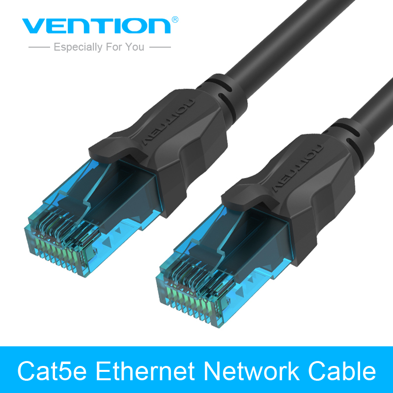 vention cat5e rj45 networking ethernet patch cord lan. Black Bedroom Furniture Sets. Home Design Ideas