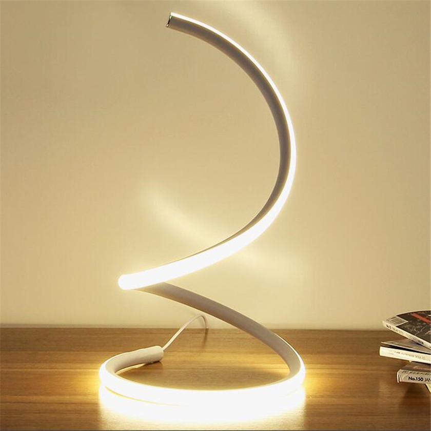 Nordic Simple LED Desk Lamps Reading Lampara Table Night For Bedroom Table Lamp 15W EU US Plug Bedside Lamp Abajur AC110-220V nordic creative table lamp for bedroom bedside simple personality desk reading decorative led table lamp
