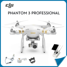 DJI Phantom 3 Professional Aerial RC Helicopter FPV Drone+Extra FREE Batterywith 4K HD Camera Quadcopter Drone with GPS 6ch