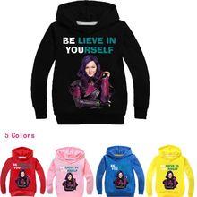 Новые осенние Рубашки принцессы для девочек, хлопковые топы, детская одежда, одежда для малышей, толстовки с капюшоном, свитер для девочек, Рождественский Костюм
