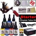 Top Quality Complete Tattoo Kit Digital Permanent Makeup Rotary Tattoo Machine Set Body Art YLT-98 Starter Tattoo Kits