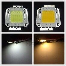 12 В-15 В светодиодный чип 10 Вт 20 Вт 30 Вт 50 Вт высокое Мощность интегрированный COB LED лампы Диод SMD белый источник света для DIY прожектор пятно лампы