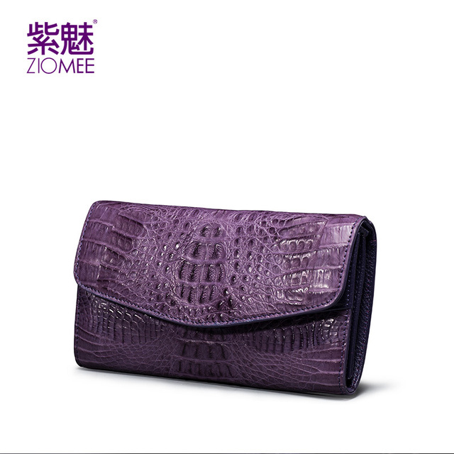 100%New genuine crocodile leather women envelope day clutch bag ladies luxury brand handmade evening shoulder bags party handbag