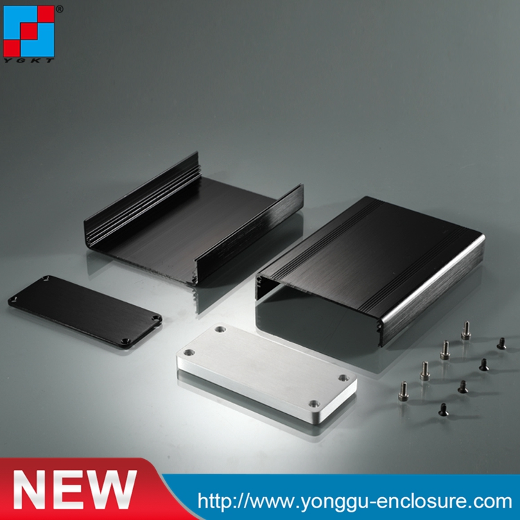 88*38*118mm (W*H*L) Best DIY HIFI OEM Aluminum Extrusion Enclosure for Instrument /polycarbonate enclosures electrical зажимы oem 304 21 38