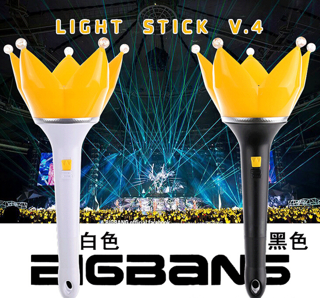 Charming New Hot Sale BIGBANG Group Light Stick For Concert Glow Stick Free Shipping Great Ideas