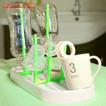 Foldable Baby Bottle Drying Rack Hanging Feeding Bottle Cups Holder Infant Nipple Kitchen Drain Shelf  Drainer for Baby Bottles