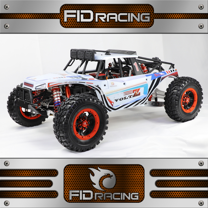 FID Dragon HammerVoltz 2019 Version 8S w Spare wheel 1 5 SCALE 4WD Rear Straight Truck