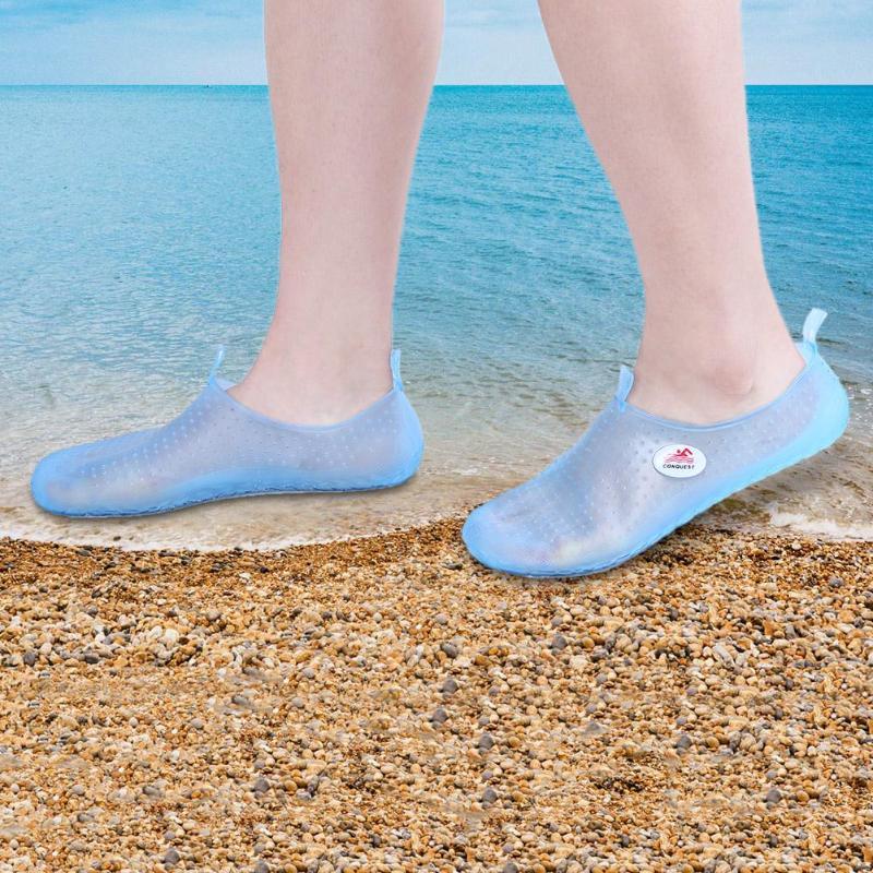 Men Women Summer Sandals Slippers Wading Diving Shoes Water Breathable Footwear Beach Walking Sneakers Flat Slipon