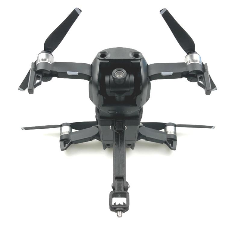 For DJI Mavic Air Accessories Gimbal Mount Holder 1/4 Screw Base Bracket For Gopro 6 5 4 3 Action Camera 360 Degree VR Camera
