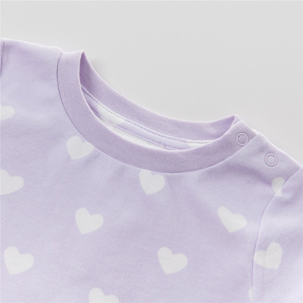 cf24a30fd DB4652 dave bella autumn baby sleepwear infant pajamas heart printed ...