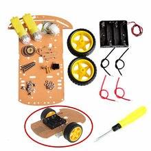 Adeept Smart Motor Robot Car Battery Box Chassis Kit Speed Encoder for Arduino Freeshipping diy diykit
