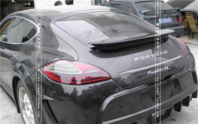 Porsche panamera spoiler