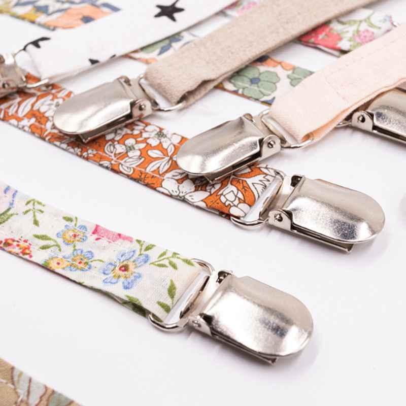 Baby chupete Clip cadena algodón soporte de lino chupete broches para chupete Correa soporte para pezones para alimentación infantil Dropshipping