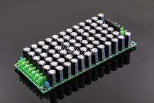 LJM Audio Assembly 75V/220UFX68pcs RUBYCON YXF Rectifier Filter Power Supply Board For Amplifier цена и фото