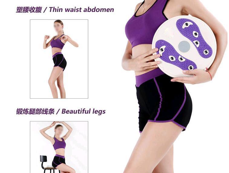 Masseur de pied Figure corps Twister plaque équipement de Fitness aimant Massage taille tortillant torsion conseil minceur Relax