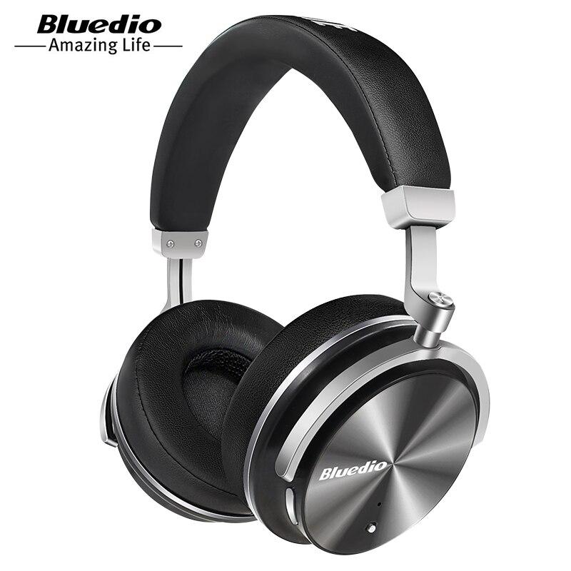 Bluedio T4 aktive noise cancelling wireless Bluetooth kopfhörer original drehbare headset mit mikrofon für Xiaomi, Samsung