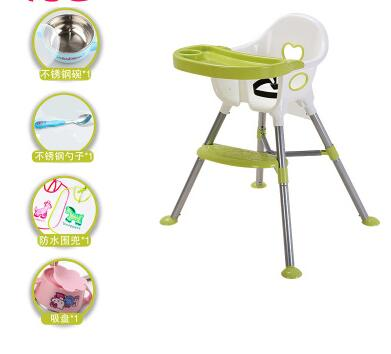 Free shipping multi-function children eat chair free shipping children eat chair the portable folding multi function plastic baby chairs and tables for dinner