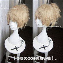 High Quality Short Straight Riku Yagami Wig Prince of Stride Synthetic Hair Anime Cosplay Wig