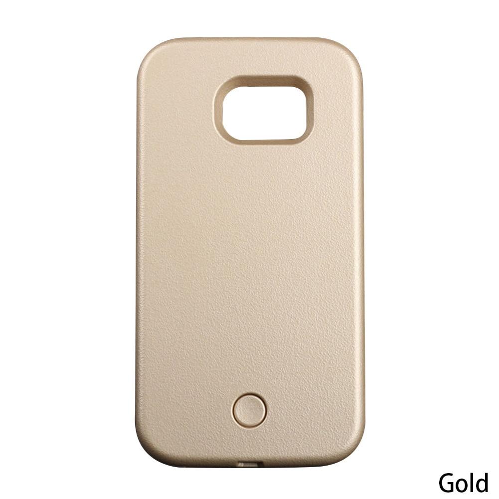 Phone Case Selfie light Up Glowing Phone Case For Samsung Galaxy Selfie Light Case