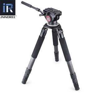 Image 5 - RT90C(LT404C) Top Level Carbon Fiber Tripod professional Birdwatching Heavy Duty Camera Stand 40mm Tube 40kg Load 75mm Adapter