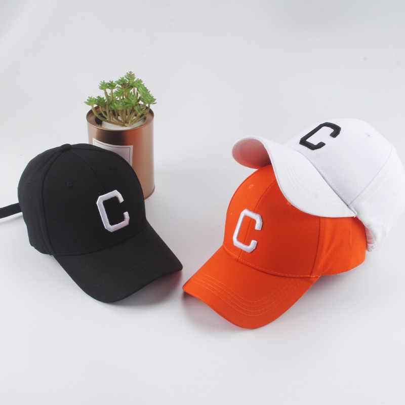 f10730219c24ae New Korean version of the men's and women's alphanumeric C baseball cap  street fashion curved visor