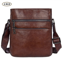 J.M.D New Arrivals Genuine Leather Fashion Design Shoulder Bag Crossbody Brown Color Portable Messenger 1025B