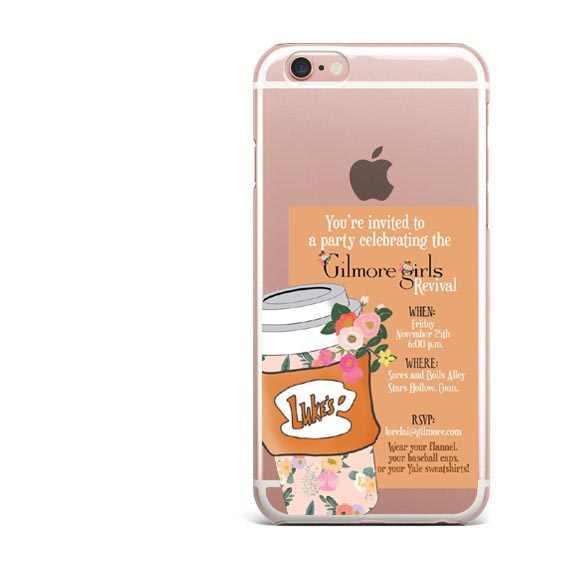 Funda de teléfono Gilmore Girls Life Short Talk Fast para iphone X 8 8 Plus funda trasera de silicona TPU para iphone 5 5s SE 6 s más 7 7 Plus