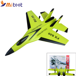 FX-820 2.4G 2CH Remote Control SU-35 Glider 290mm Wingspan EPP Micro Indoor RC Airplane Aircraft RTF Paper RC Drone