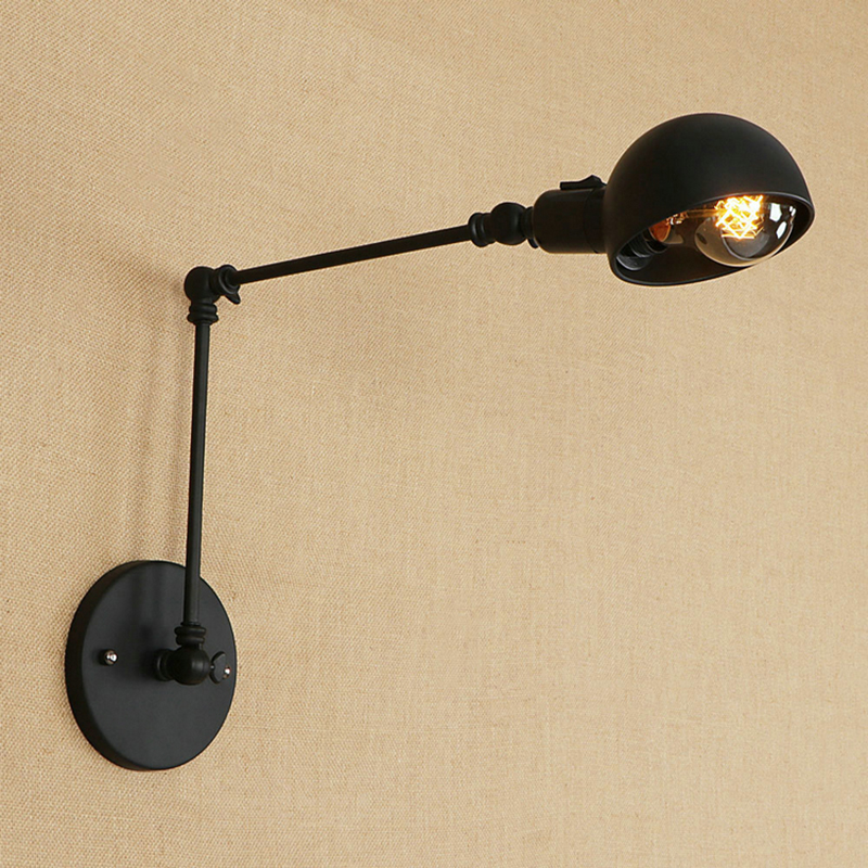 indoor sconce lighting fixtures wall aliexpresscom buy vintage led wall lights sconce lighting fixtures with switch hallway home indoor lamp industrial loft e27 110v 220v from