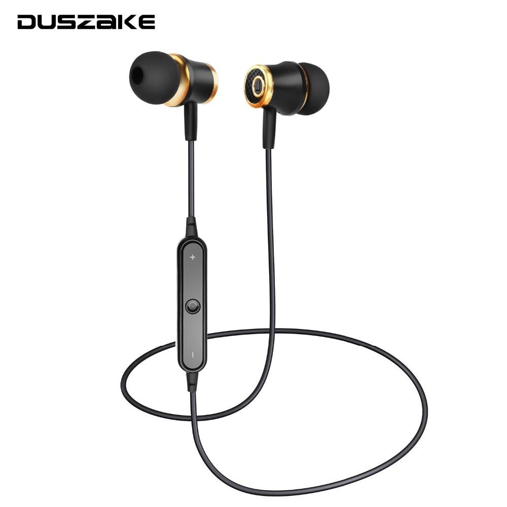 DUSZAKE Y08 Wireless Headphones Bluetooth Sport Earphone Stereo Dynamic In Ear With Mic