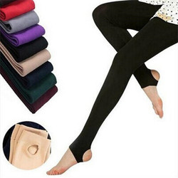 2018 New Fashion Woman Casual Warm Faux Velvet Winter Leggins Women Leggings Knitted Thick Slim Women Legins Solid Pants 1