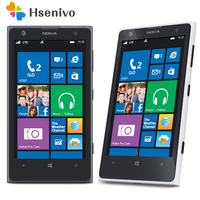 1020 разблокирована 100% Оригинал Nokia Lumia 1020 mobile телефон 2 Оперативная память 32 ROM телефон 41MP gps 4,5 емкостный сенсорный экран сотовый телефон