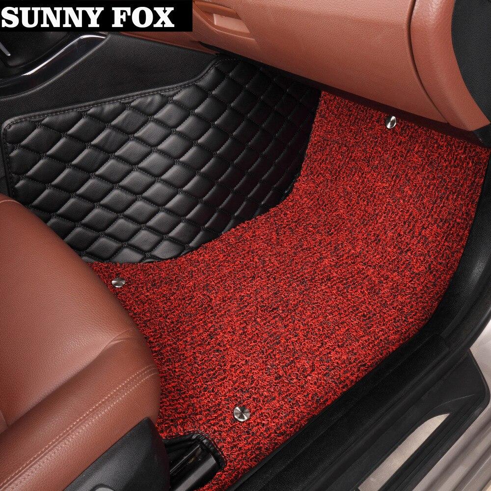 Sunny Fox Car Floor Mats Case For Hyundai Ix25 Ix35