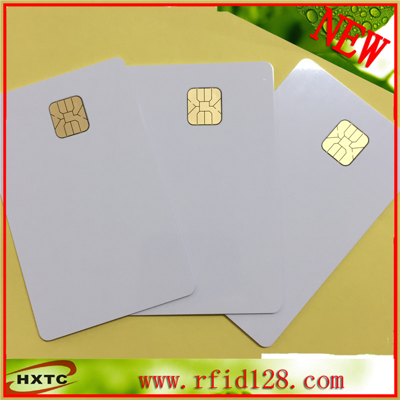 Free Shipping ISO14443 (20PCS/Lot) AT24C02 Chip Contact Blank Smart  Card  with 2K Memory 20pcs lot contact sle4428 chip gold card with magnetic stripe pvc blank smart card purchase card 1k memory free shipping