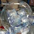 10/20/24/36 дюймов пузырь фотографический фон без складок с изображением света прозрачные воздушные шары из ПВХ прозрачный globos день рождения Св...